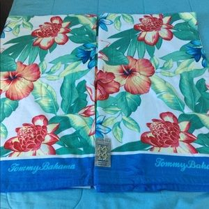 Two Floral Beach Towel